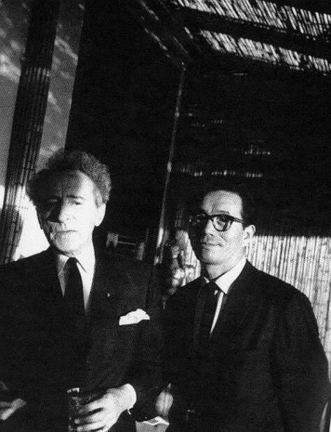 30th_Jean Cocteau and Kon Ichikawa.