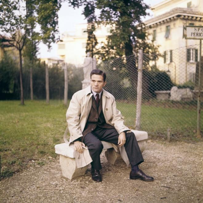 6th_Pier Paolo Pasolini in Roma, 1967, by Franco Vitale-2