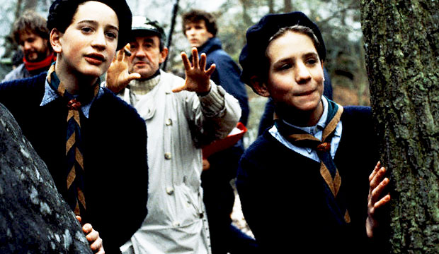 9th_Raphael Fejto, Gaspard Manesse and Louis Malle on the se of Au Revoir les Enfants, 1987-3
