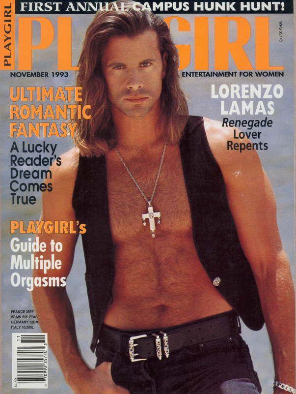playgirl 1993 Lorenzo Lamas