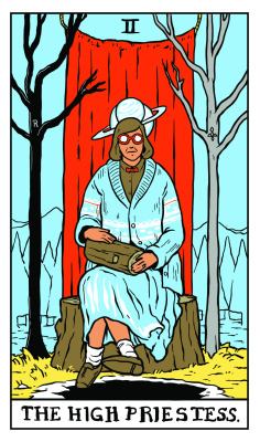 TWIN PEAKS TAROT illustration by Benjamin Mackey-3