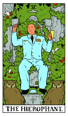 TWIN PEAKS TAROT illustration by Benjamin Mackey-6