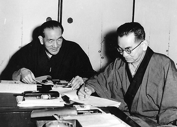 12th_Yasujiro Ozu and Kogo Noda-1