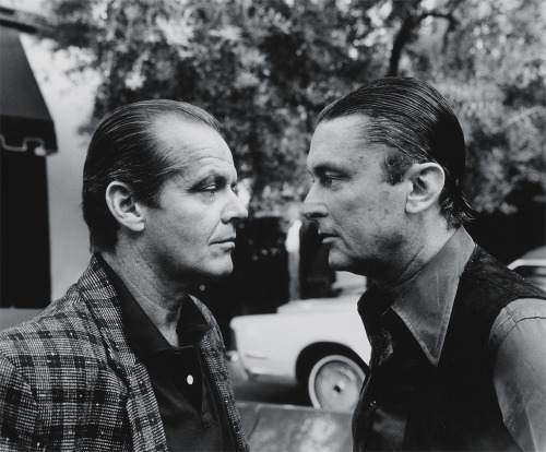 16th_Jack Nicholson and Robert Evans by Helmut Newton, Beverly Hills, 1985