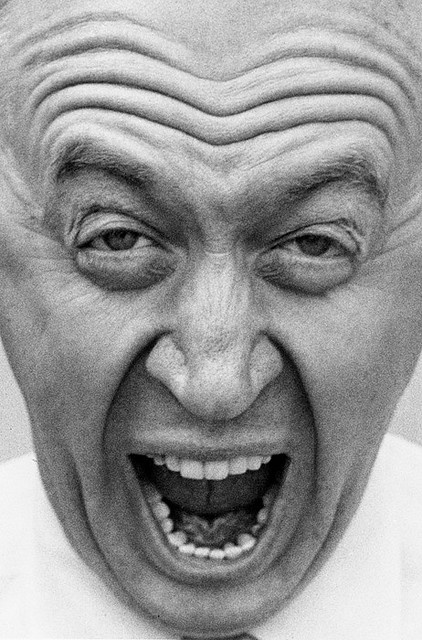 26th_Otto Preminger, 1955 - by Bob Willoughby