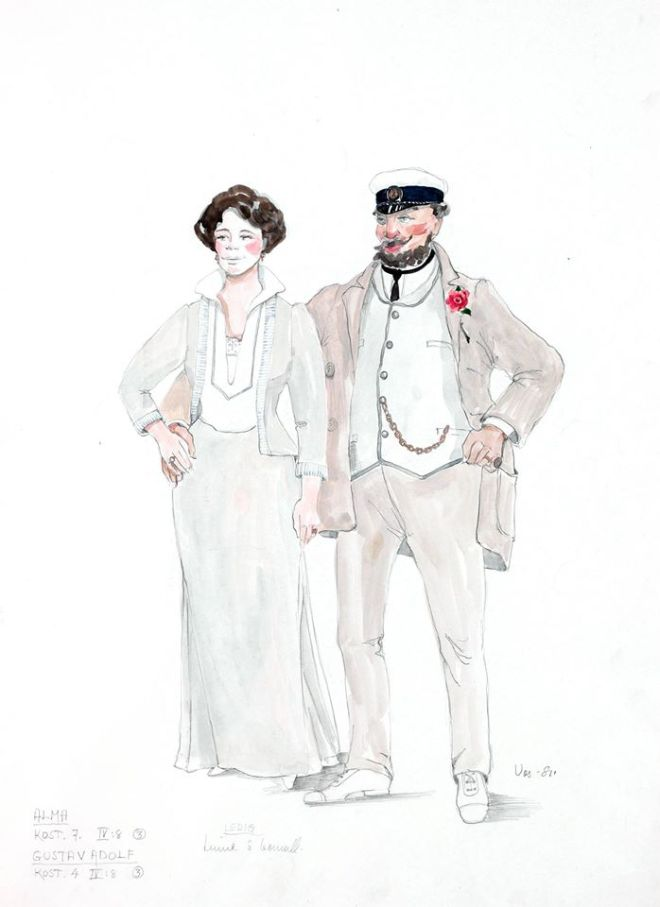 exquisite costume sketches by Marik Vos for Bergman's FANNY AND ALEXANDER.-2