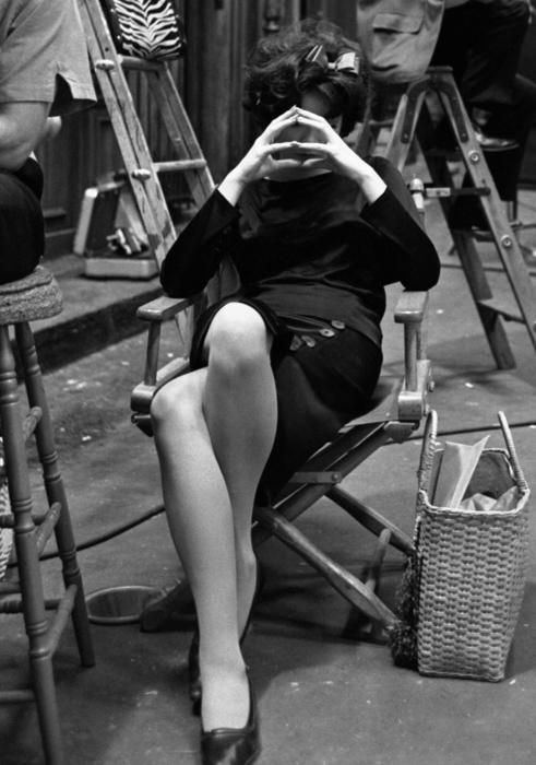 15th_Shirley MacLaine during the filming of Billy Wilder's IRMA LA DOUCE.