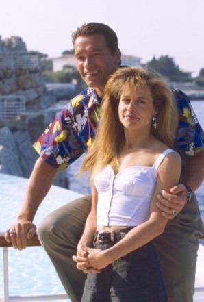 17_Arnold Schwarzenegger & Linda Hamilton, Cannes Film Festival, 1991
