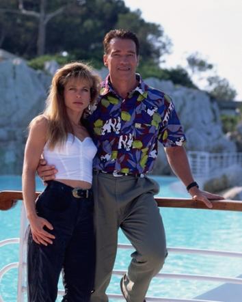 17_Arnold Schwarzenegger & Linda Hamilton, Cannes Film Festival, 1991_2