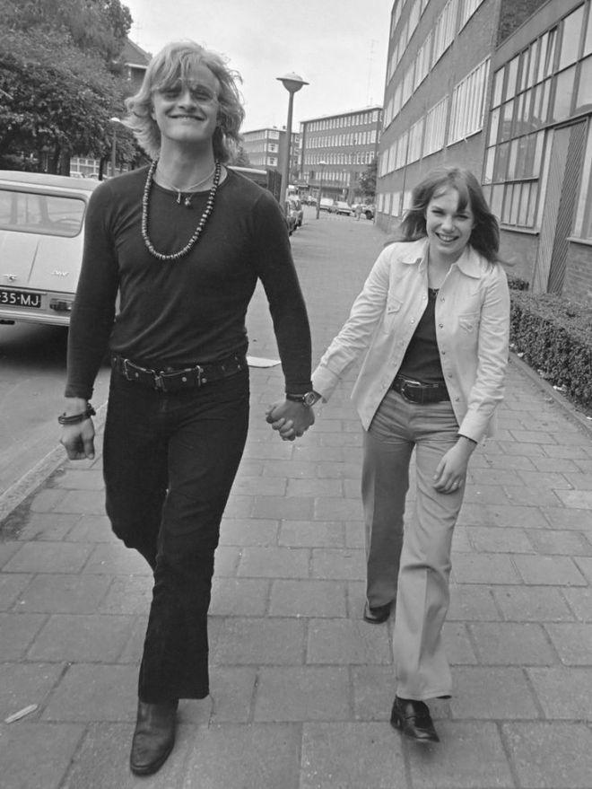 18th_Rutger Hauer and Monique van de Ven during the shooting of Paul Verhoevens Turkish Delight (1973).jpg