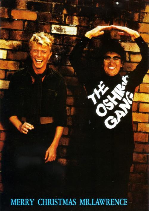 21_David Bowie & Maestro Nagisa Oshima (Director) 1983.jpg