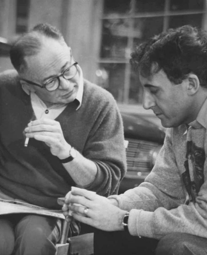 22_Billy Wilder & Peter Sellers on the set of KISS ME, STUPID..jpg