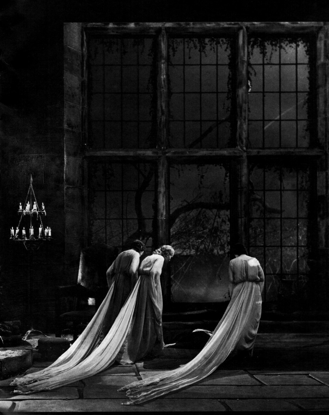 25_Dracula's Brides in a production still from Dracula (1931, Tod Browning) Art direction by Charles D. Hall.jpg