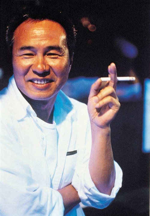 """2nd_Hou Hsiao Hsien on the set of """"Millenium Mambo"""