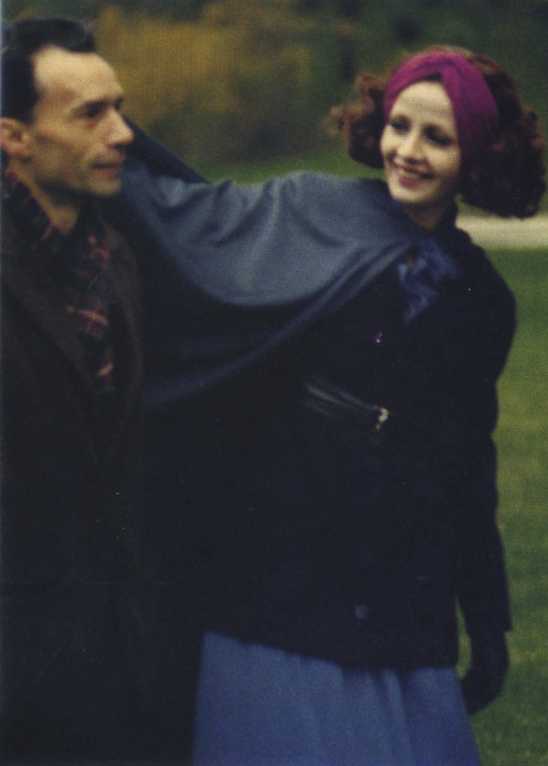 4th_Jacques Rivette and Juliet Berto on the set of Duelle