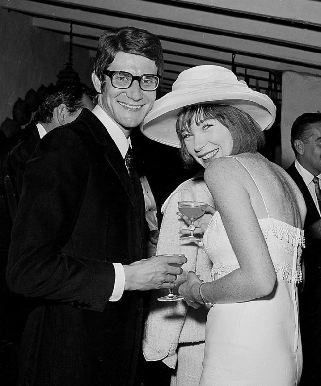 14_Yves Saint Laurent and Shirley MacLaine, 1965.jpg