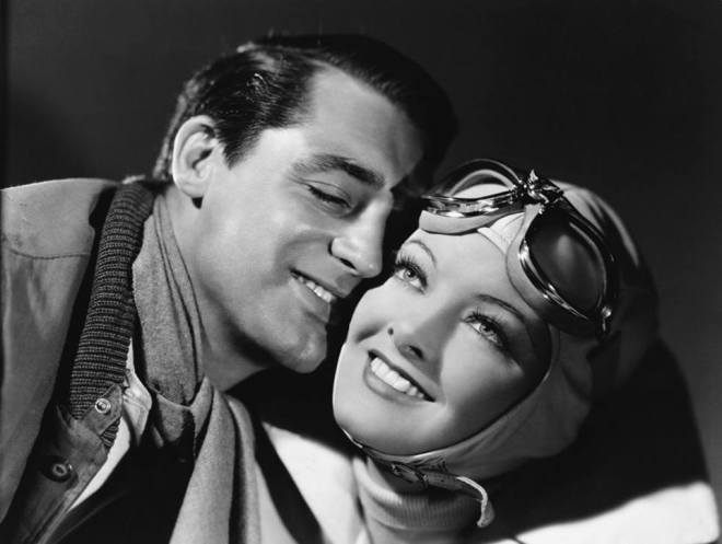 13_Portrait of Cary Grant and Myrna Loy in Only Angels Have Wings directed by Howard Hawks, 1939. Photo by John Springer..jpg