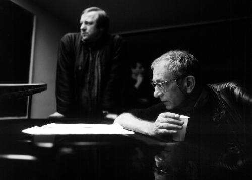14_Zbigniew Preisner & Krzystof Kieslowski by Piotr Jaxa.jpg