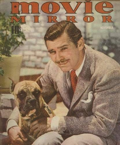 "19_Clark Gable on the cover of ""Movie Mirror"" magazine, USA, November 1939..jpg"
