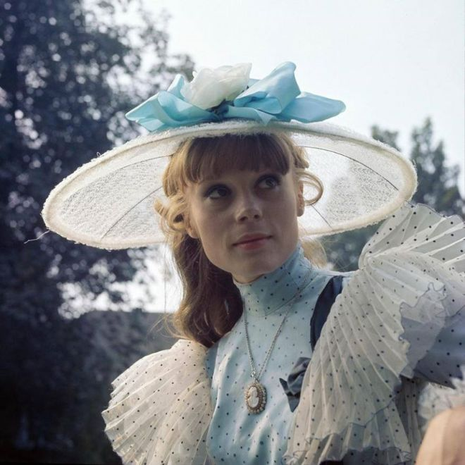 24_Portrait of Françoise Dorléac for Teuf-Teuf directed by Georges Folgoas, 1963. Photo by Jean Claude Pierdet..jpg