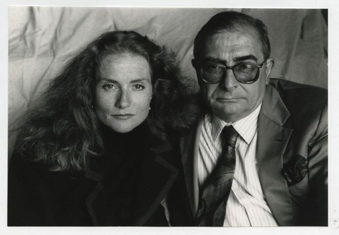 26_Isabelle Huppert and Claude Chabrol by Richard Ballarian, 2000s..jpg