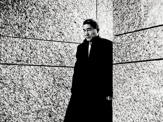 28_Director Takeshi Kitano photographed by Anton Corbijn for Maxim Fashion magazine, 2004-2