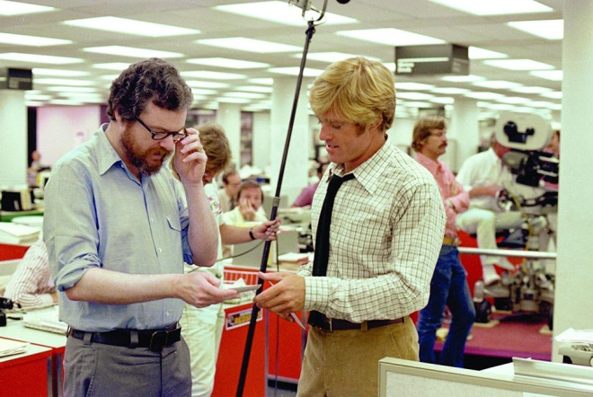 2_Alan J. Pakula and Robert Redford on the set of All the President's Men.jpg