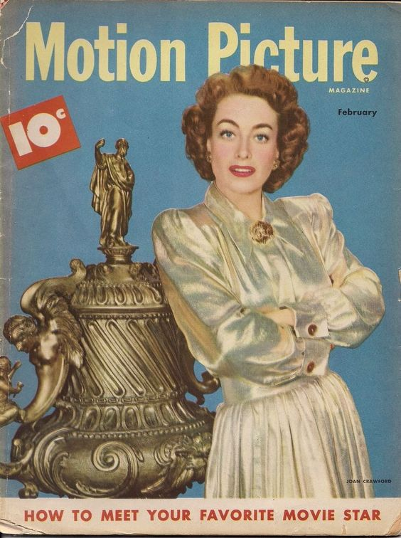 "7_Joan Crawford on the cover of ""Motion Picture Magazine"", USA, February 1948.jpg"