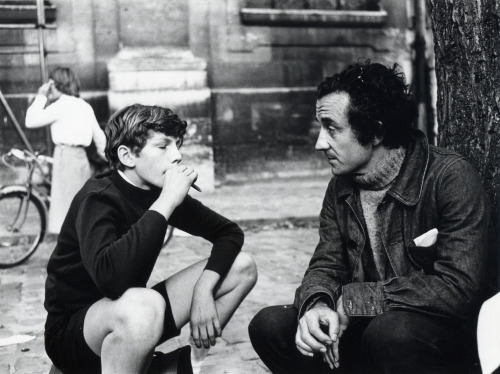 30_Benoît Ferreux & Louis Malle on the set of Murmur of the Heart,1971.jpg