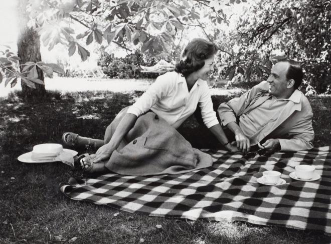 Ingmar Bergman & Käbi Laretei by Lennart Nilsson-3