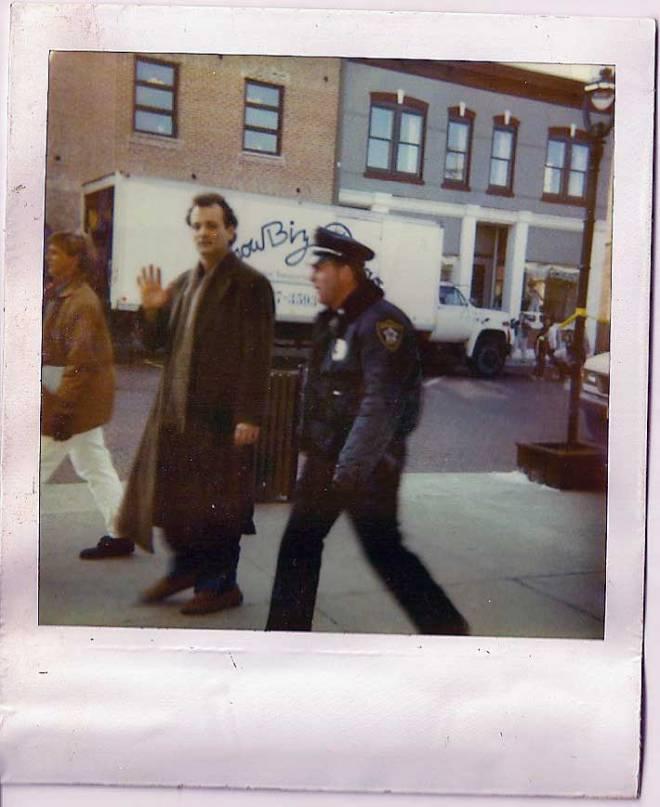15_Bill Murray on the set of Groundhog Day..jpg