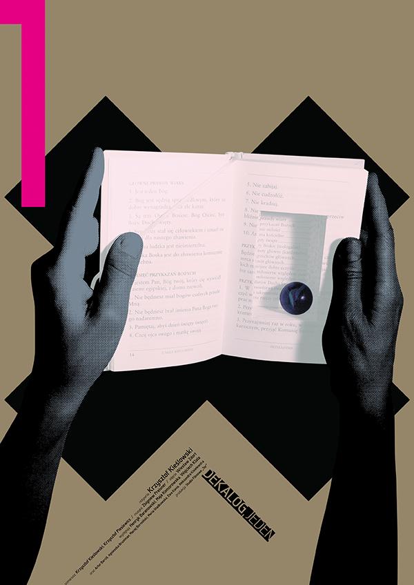 Dekalog, 1989, Krzysztof Kieślowski Posters by Ewa Wein-1 (10)