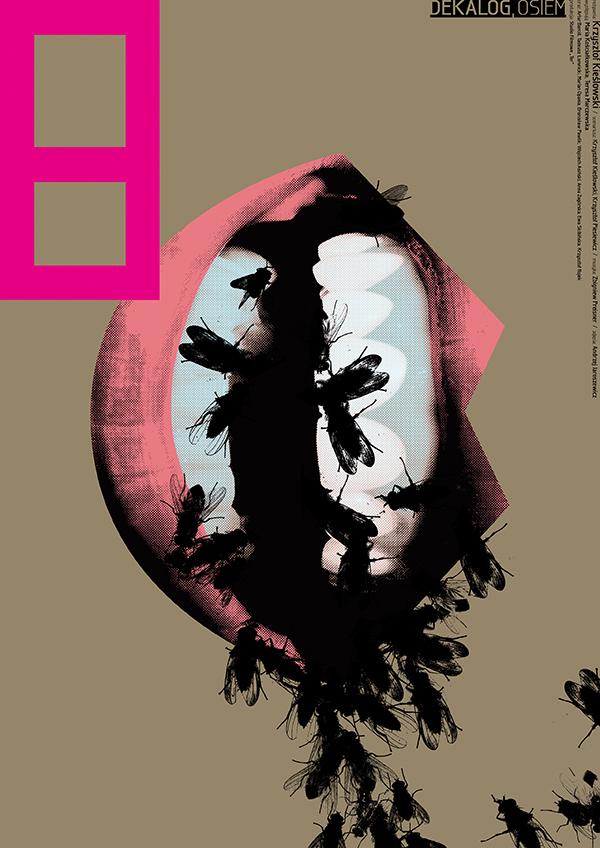 Dekalog, 1989, Krzysztof Kieślowski Posters by Ewa Wein-1 (7)