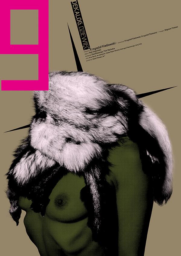Dekalog, 1989, Krzysztof Kieślowski Posters by Ewa Wein-1 (8)