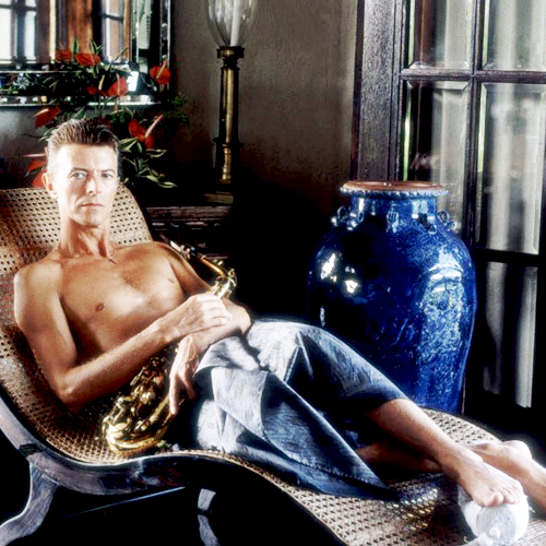 17_David Bowie photographed by Derry Moore at his house on the Island of Mustique, 1992-2