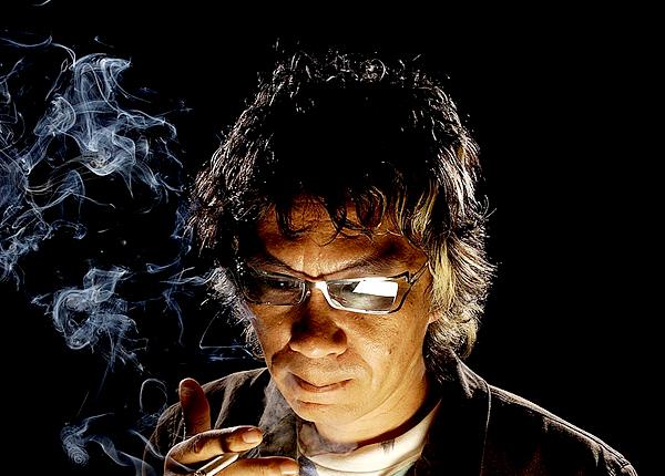 25_Takashi Miike photographed by Michael Caulfield at CineVegas, 2004-1