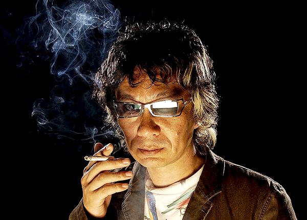 25_Takashi Miike photographed by Michael Caulfield at CineVegas, 2004-2