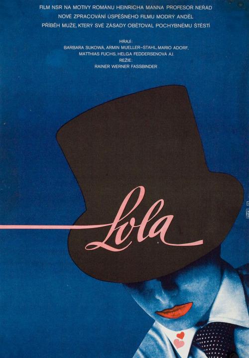 26_Rainer Werner Fassbinder's Lola czech poster by Vratislav Sevcik.jpg
