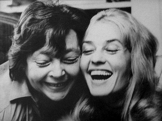 Marguerite Duras and Jeanne Moreau, c1972.jpg