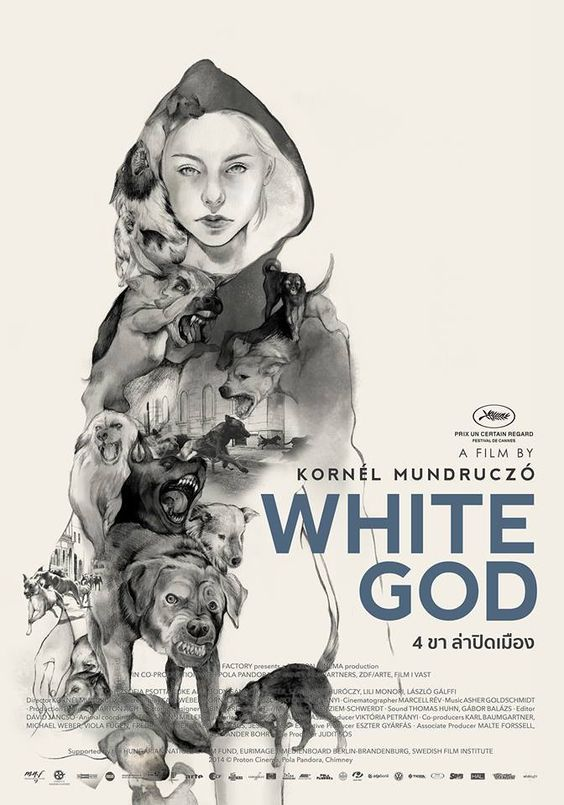 21_White God (Kornél Mundruczó, Hungary, 2014) Thai design by Riety.jpg