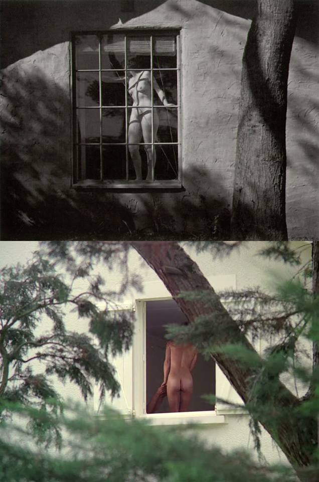 26_Nude (through a window) | Photograph by Edward Henry Weston | 1945%0APauline à la plage (Pauline at the Beach) | Éric Rohmer | France | 1983