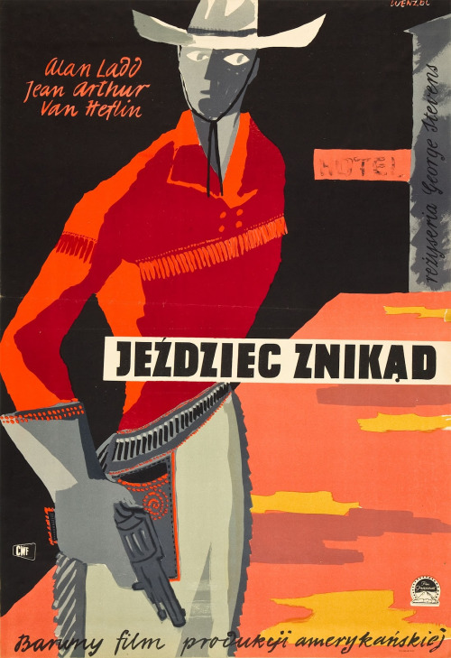"9_""Shane"" polish poster by Wojciech Wenzel.jpg"