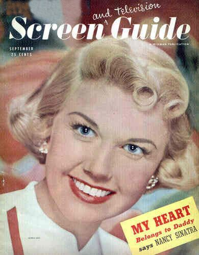 "Doris Day on the cover of ""Screen and Television Guide"", USA, September 1949.jpg"