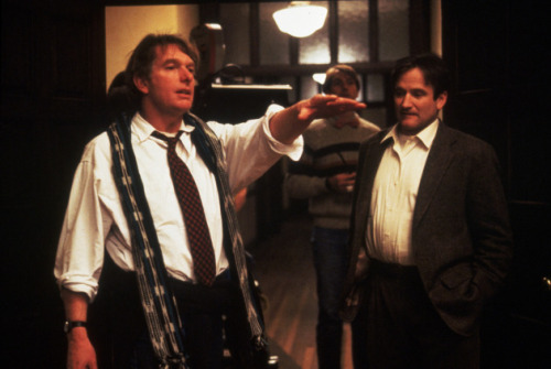 5_Peter Weir and Robin Williams on the set of Dead Poets Society (1989).jpg