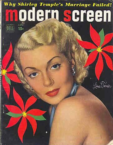 "Lana Turner on the cover of ""Modern Screen"" magazine, USA, January 1950..jpg"