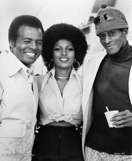 10_Pam Grier, Terry Carter and Antonio Fargas on the set of Foxy Brown (1974).jpg