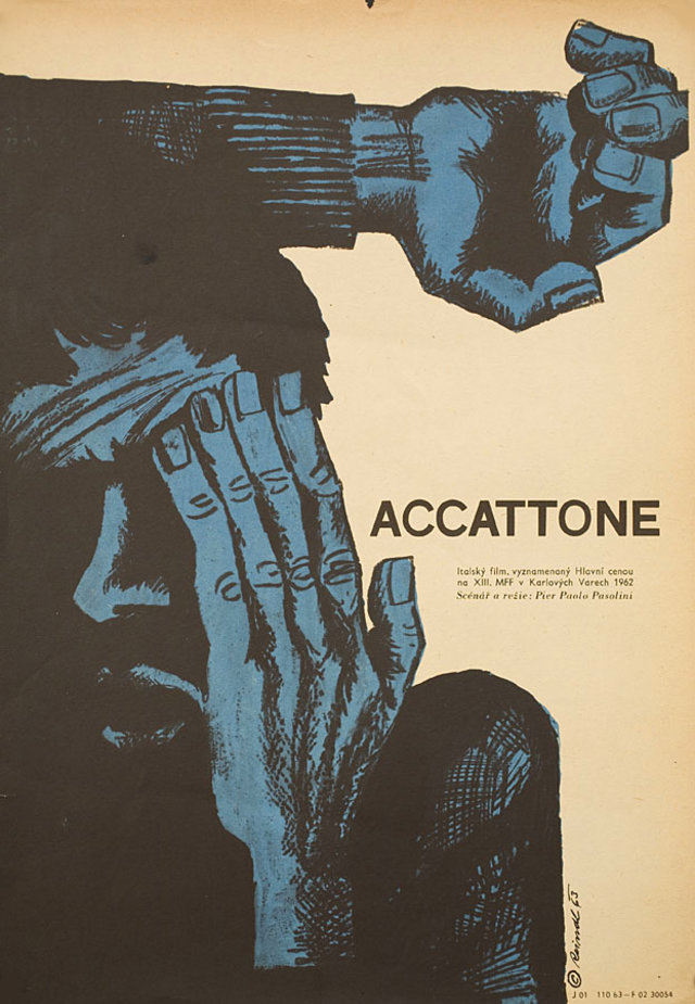 8_Accattone (1961). Czech poster by Milos Reindl..jpg