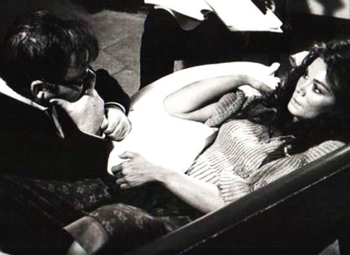 10_Lucio Fulci and Florinda Bolkan on the set of Don't Torture A Duckling - 1972.jpg