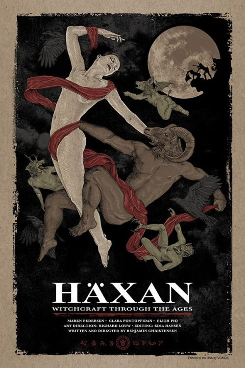 21_Benjamin Christensen's Häxan (1922). Poster by Timothy Pittides..jpg