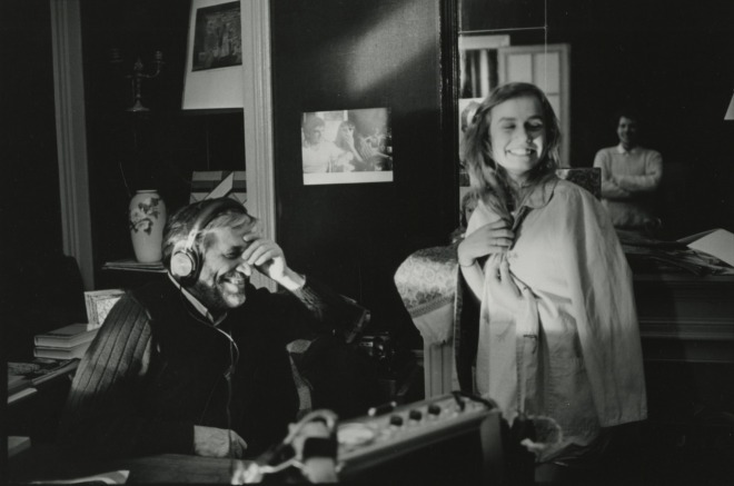 maurice-pialat-sandrine-bonnaire-on-the-set-of-a-nos-amours